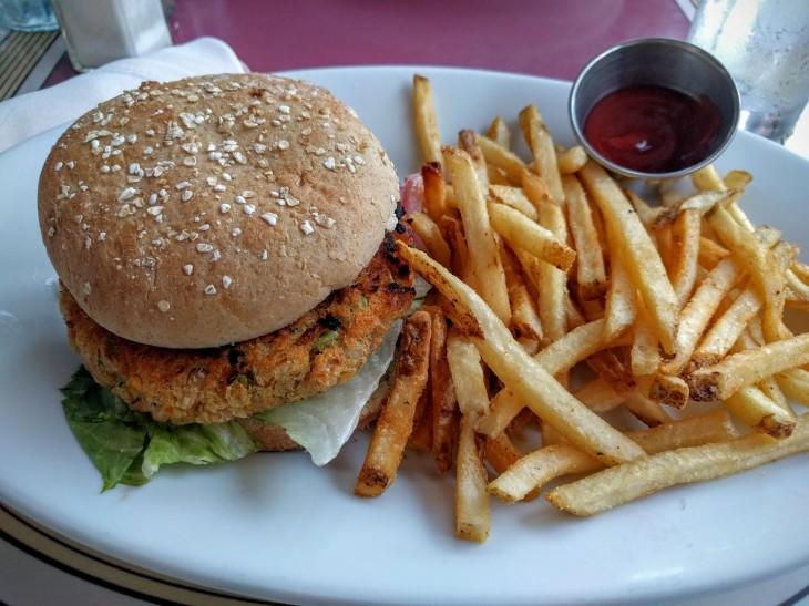 Disneyland vegan burger