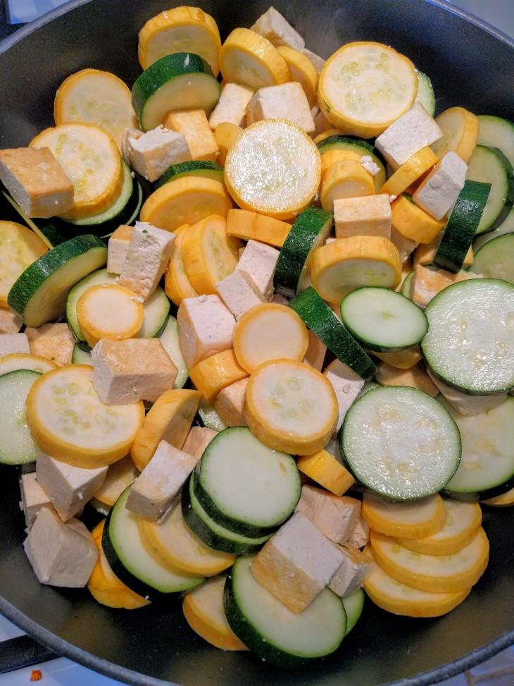 tofu zucchini