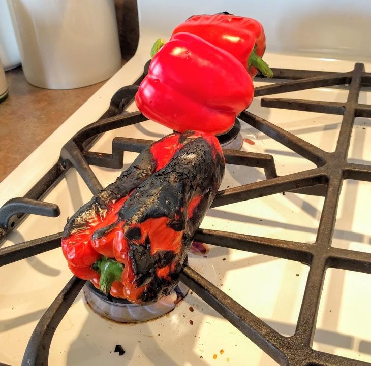 Italian roasted peppers