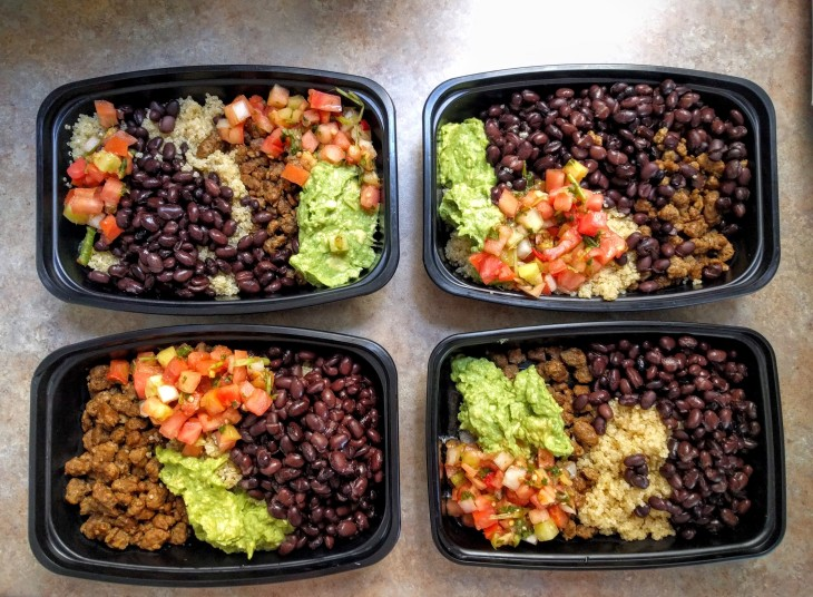 Meal Prep Sunday - July 24 | Vegan burrito bowl