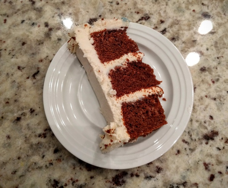 Project Meal Prep | Vegan red velvet cake