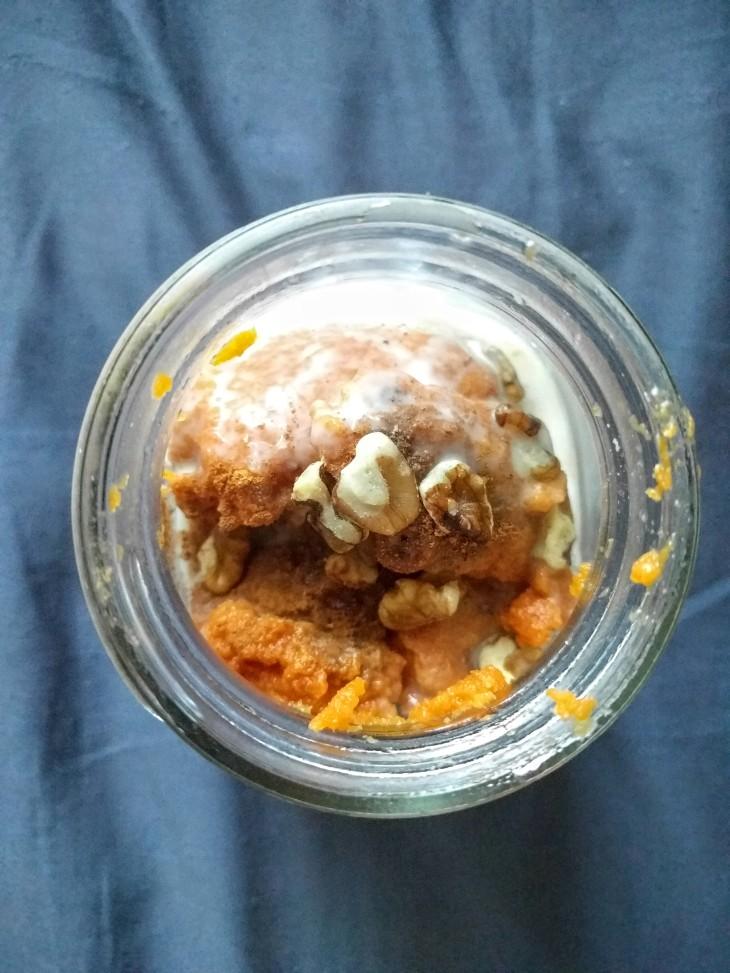 Project Meal Prep | Pumpkin overnight oats