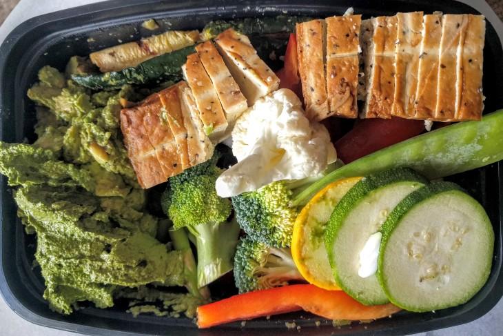 Project Meal Prep | Veggies & tofu