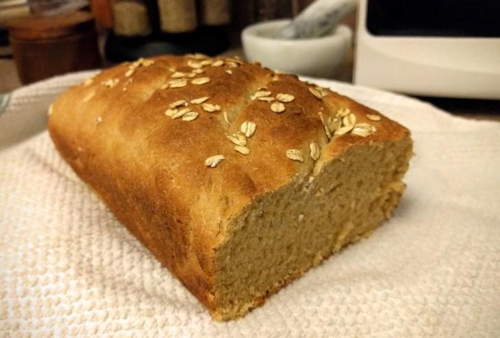Project Meal Prep | Semi-whole-wheat bread