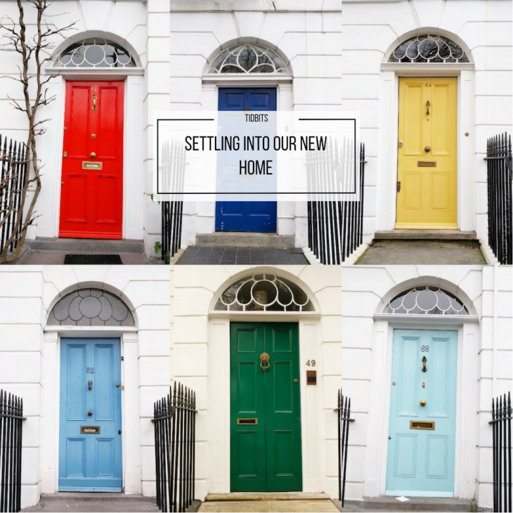 Settling into our new home | Colorful doors in London