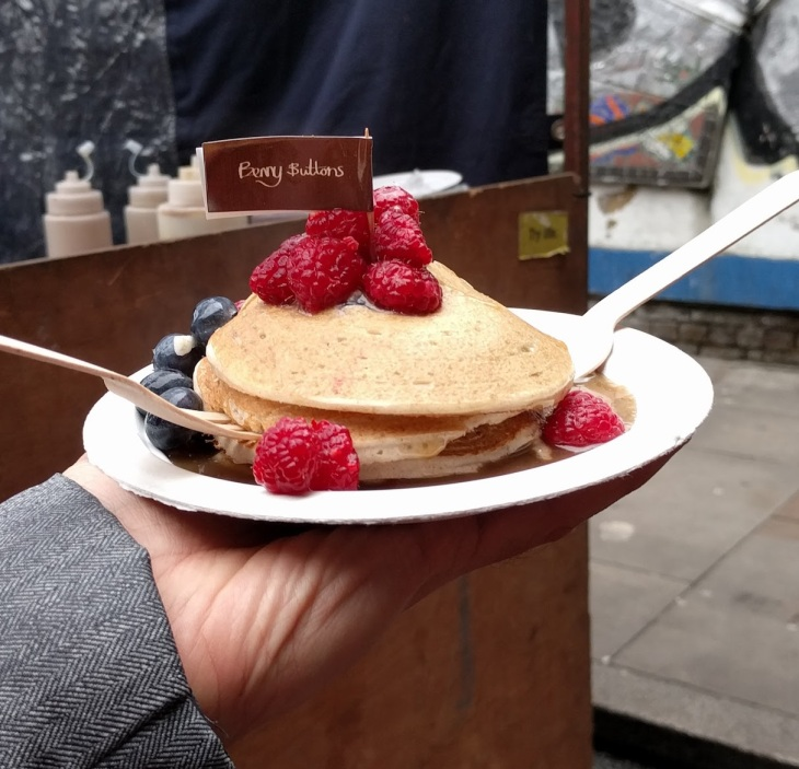 Where to eat vegan food in London | vegan pancakes